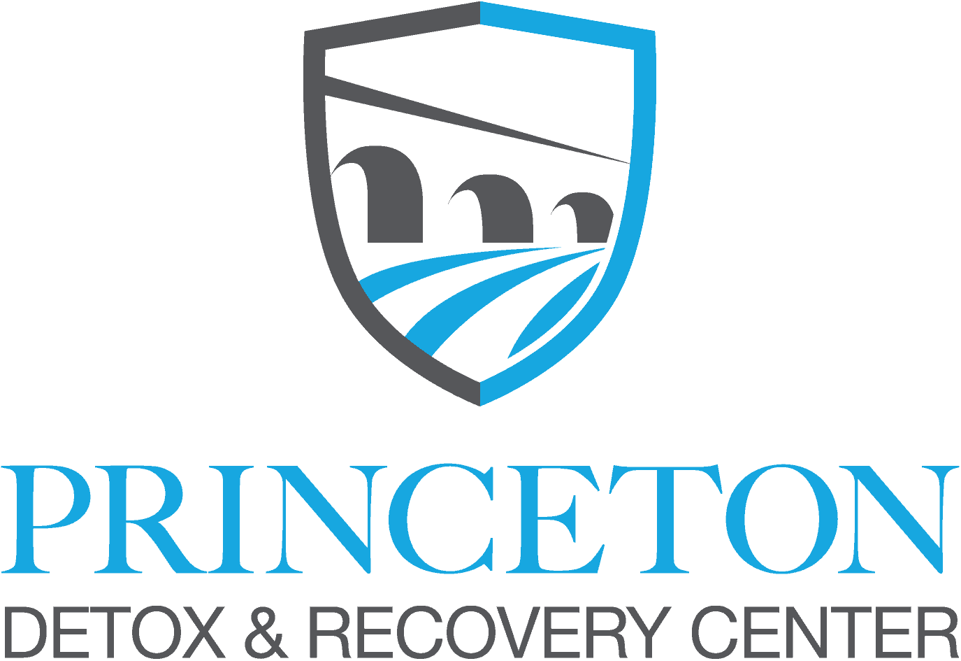 Princeton Detox and Recovery Center Vertical Logo